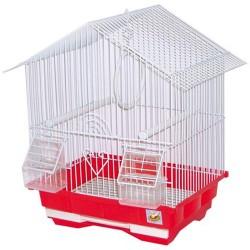 CROCI Primavera Gabbia per uccelli Rettangolare da appendere 30x23x39 h cm