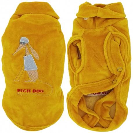 Rich Dog Fashion Magliocino per Cane Tg. 35 cm Giallo