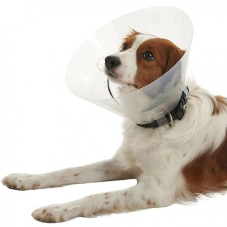 Kruuse Buster Clic Collar Collare Elisabettiano h 15 cm in Plastica per Cane e Gatto
