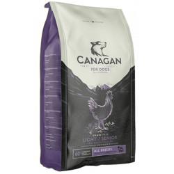 CANAGAN FREE-RUN CHICKEN light / senior 12 kg - CIBO SECCO PER CANI Anziani e Sovrappeso con POLLO