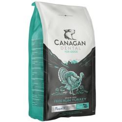 Canagan Free Run Turkey Dental Regular 6 kg Cibo Secco Per Cane con Tacchino Anti Placca