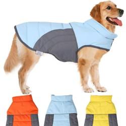 Nobleza Outdoor Coat Cappotto Impermeabile per Cane Tg. 50 cm Arancione
