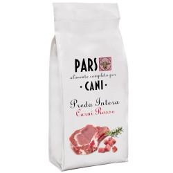 PARS Preda Intera Carni Rosse Cibo Secco per Cane da 12 kg Con Bovino Agnello Verdure e Riso