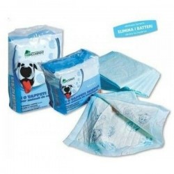 FARM COMPANY 10 Tappetini Igienici per Cane 60x60 cm super assorbenti
