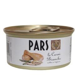 PARS le Carni Bianche - Cibo umido per ANIMALI DA COMPAGNIA senza cereali da 85 gr
