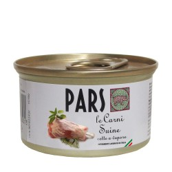 PARS le Carni Suine - Cibo umido per ANIMALI DA COMPAGNIA senza cereali da 85 gr