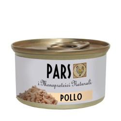 PARS I Monoproteici NATURALI Cibo umido al POLLO per ANIMALI DA COMPAGNIA senza cereali da 70 gr