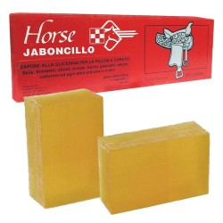 Horse Jarboncillo Sapone alla Glicerina per Pelle da 250gr Per Equitazione e Accessori in Cuoio