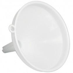 Imbuto in Plastica Bianca da 14 cm Per Uso Alimentare