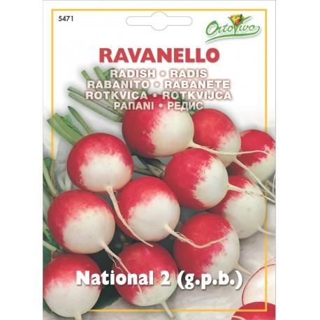 Hortus Semi di Ravanello National 2 P.P.B.