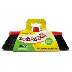 Scopazza Doxa Scopa per Interni con Fibra PET 100% Riciclata 33x9x9h cm