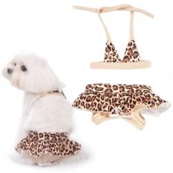 Pooch Outfitters Rio Bikinis Tg. XXS/17 cm Costume da Bagno per Cane Animalier