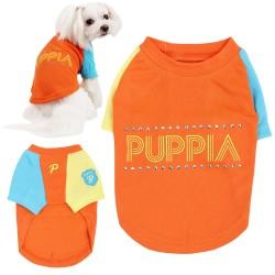 Puppia Nimble T-Shirt per Cane Tg. M/24 cm Arancione