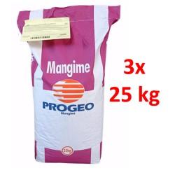 3X25 kg Progeo RuraL Fioc  Pellet + Fioccato Mangime Complementare Per Bovini, Ovi-Caprini ed Equini