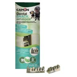 CAMON Dental Snack con enzimi attivi 100% VEGETALI per Cane - 35 gr