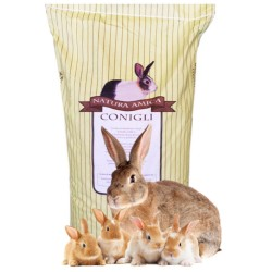 Progeo Coniglietti Latte Veg Pellet Mangime Completo Per Coniglietti da 10 kg con Coccidiostatico