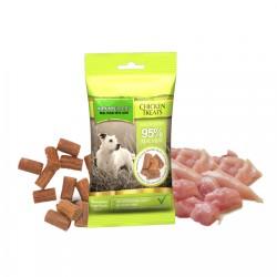 NATURES MENU Chicken Treats - PREMI PER CANE DI VERA CARNE CON POLLO da 60 gr