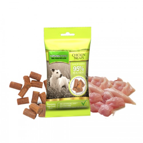 NATURES MENU TREATS PER CANI - POLLO 60 GR.