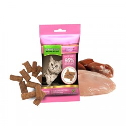 NATURES MENU TREATS PER GATTI - POLLO E FEGATO 40 GR.