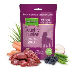SNACKS COUNTRY HUNTER - CERVO CON MIRTILLI NERI 50 GR.
