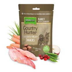 SNACKS COUNTRY HUNTER - CONIGLIO E RIBES ROSSO 50 GR.