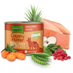NATURES MENU COUNTRY HUNTER Salmon & Chicken - CIBO UMIDO PER CANI gusto SALMONE CON POLLO da 600 gr