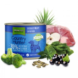 NATURES MENU COUNTRY HUNTER Delicious Wild Boar - CIBO UMIDO PER CANE custo CINGHIALE SELVATICO da 600 gr