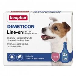 BEAPHAR - Dimeticon Line-On per cani di taglia piccola