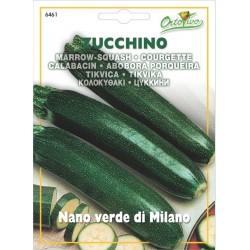 Hortus Ortovivo - semi di Zucchino nano verde di Milano