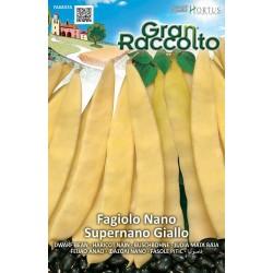 Hortus Gran Raccolto - semi di Fagiolo nano supernano giallo