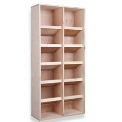 Posatoio in legno per colombi da 10 posti