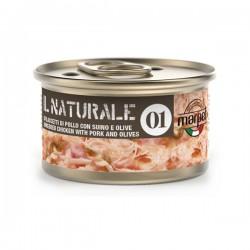 Marpet Il Naturale 1 - Sfilaccetti di Pollo con Suino e Olive