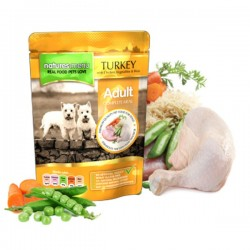 NATURES MENU Turkey With Chicken ADULT - CIBO UMIDO PER CANE ADULTO gusto TACCHINO CON POLLO da 300 gr