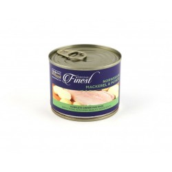 FISH4DOGS FINEST Norwegian Mackerel & Potato - CIBO UMIDO PER CANE Sgombro & Patate da 185 gr