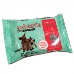 FARM COMPANY - Salviette Detergenti purificanti e lenitive per Cani e Gatti