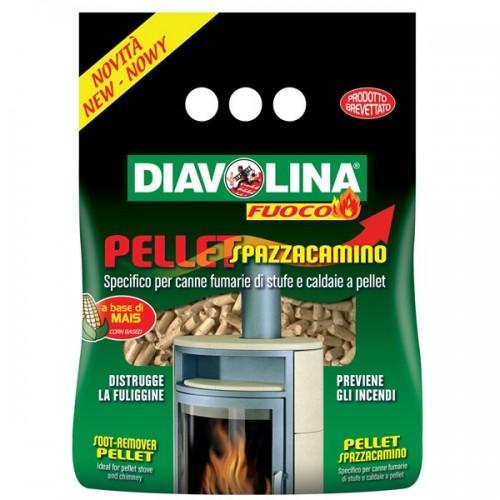 DIAVOLINA Pellet Spazzacamino 1,5 kg