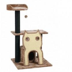 FARM COMPANY - Graffiatoio Tiragraffi Grattatoio a 2 piani con gatto in sisal