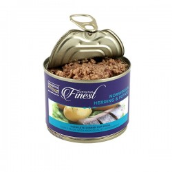 FISH4DOGS FINEST Norwegian Herring & Potato - CIBO UMIDO PER CANE Aringa & Patate da 185 gr