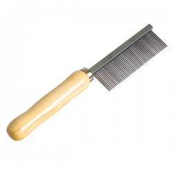 FARM COMPANY - Pettine a 52 denti con manico in legno