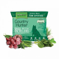 NATURES MENU' COUNTRY HUNTER british lamb nuggets - CIBO SURGELATO PER CANI gusto AGNELLO INGLESE da 1Kg