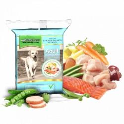 NATURES MENU' chicken & salmon complete dog meals - CIBO SURGELATO PER CANI gusto POLLO e SALMONE da 300g