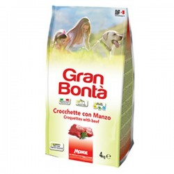 MONGE GRAN BONTA' crocchette con manzo 4 kg