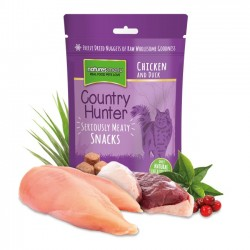 NATURES MENU COUNTRY HUNTER SNACKS LIOFILIZZATI PER GATTI - POLLO E ANATRA 40 gr