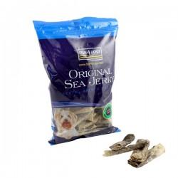 FISH4DOGS Sea Jerky Skinny Strips - Snack per GATTI con pelle di pesce da 100 gr