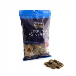 FISH4DOGS Original Sea Jerky Squares - Snack per CANE con pelle di pesce da 100 gr