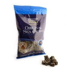 FISH4DOGS Original Sea Jerky Tiddlers - Snack per CANE con pelle di pesce da 100 gr