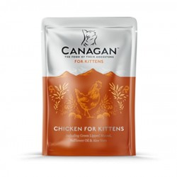 CANAGAN Chicken for Kittens - Cibo Umido per Gattini con POLLO da 85 GR