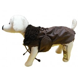 RICH DOG - CAPPOTTO TECNO PELLE PER CANI