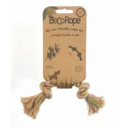 BECOTHINGS - GIOCO CORDA NATURALE JUNGLE 2 NODI PER CANI