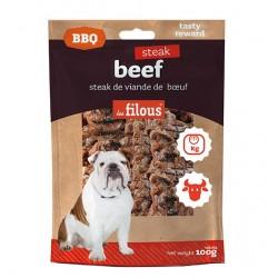 LES FILOUS STEAK BEEF - BISTECCHE DI MANZO BBQ da 100 gr
